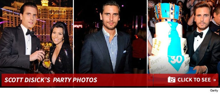 Scott Disick's Party Photos