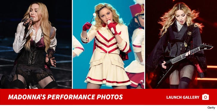 Madonna's Performance Photos