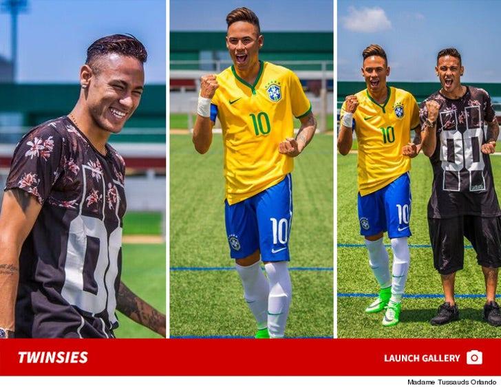 Neymar Jr. -- Madame Tussauds Orlando