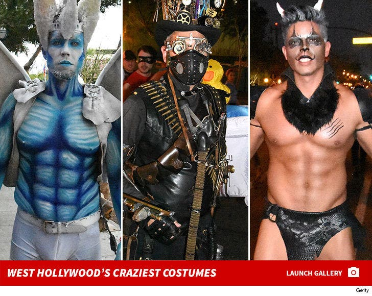 West Hollywood Halloween Costumes