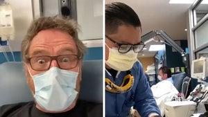 Bryan Cranston Says He Had COVID-19, Donating Plasma to Help