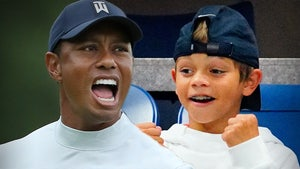 Tiger Woods' 11-Year-Old Son Dominates Golf Tournament, Just Like Dad!