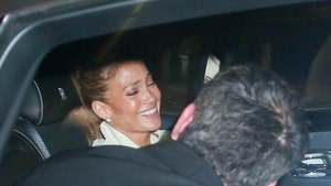 Jennifer Lopez and Ben Affleck All Smiles After Dinner Date