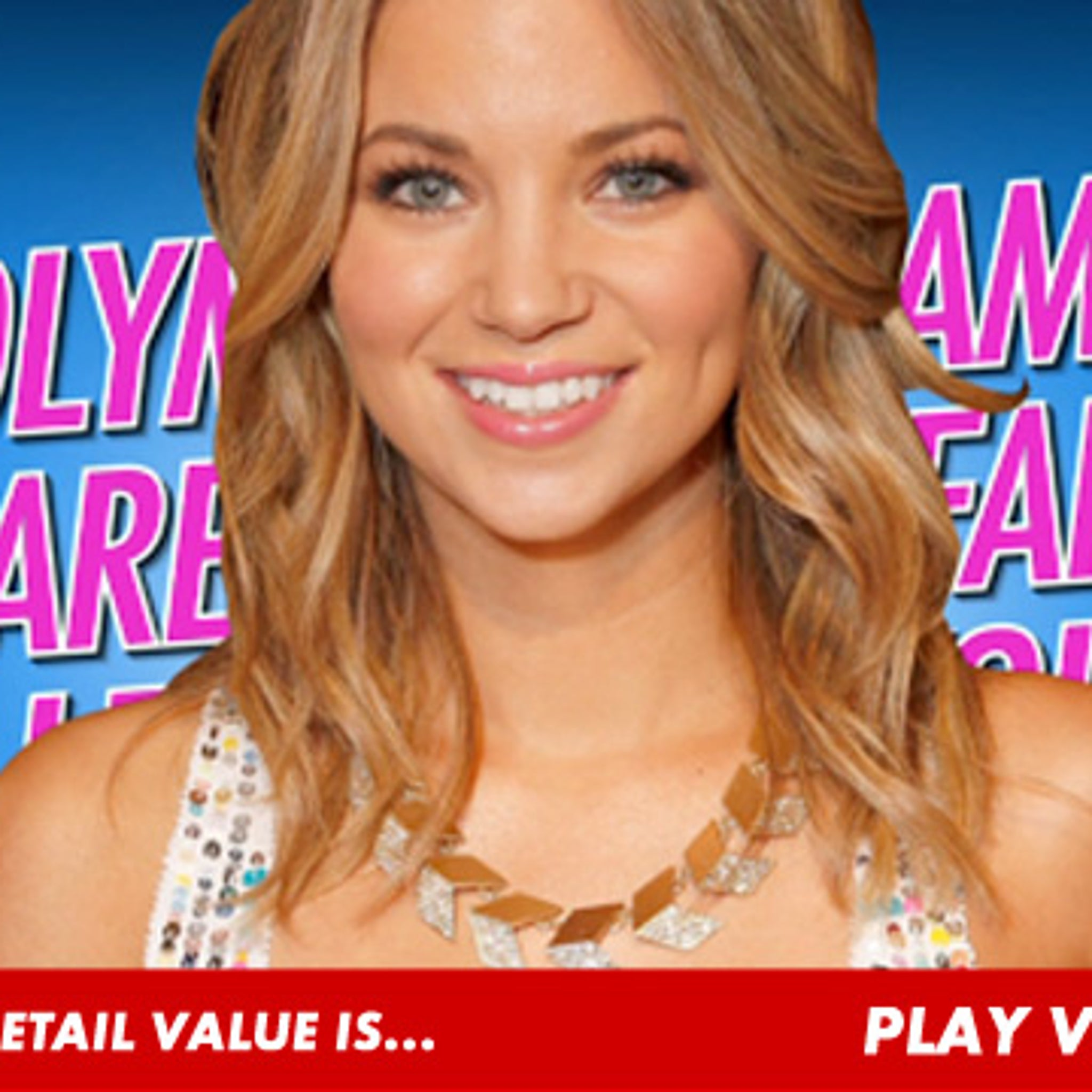Price Is Right' Hottie -- Olympic Medals Come CHEAP!!