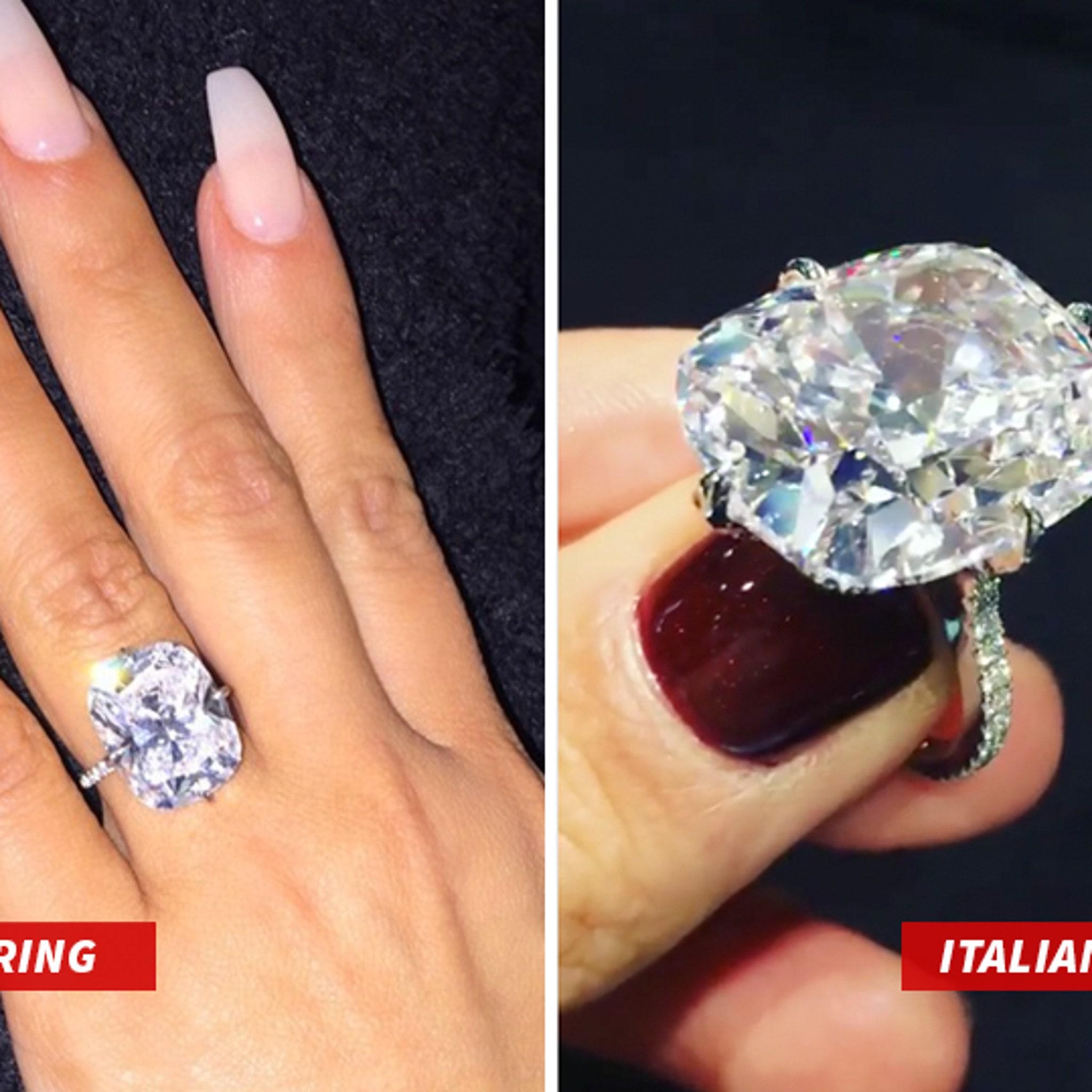 Kim Kardashian West S Stolen Ring Not So Unique