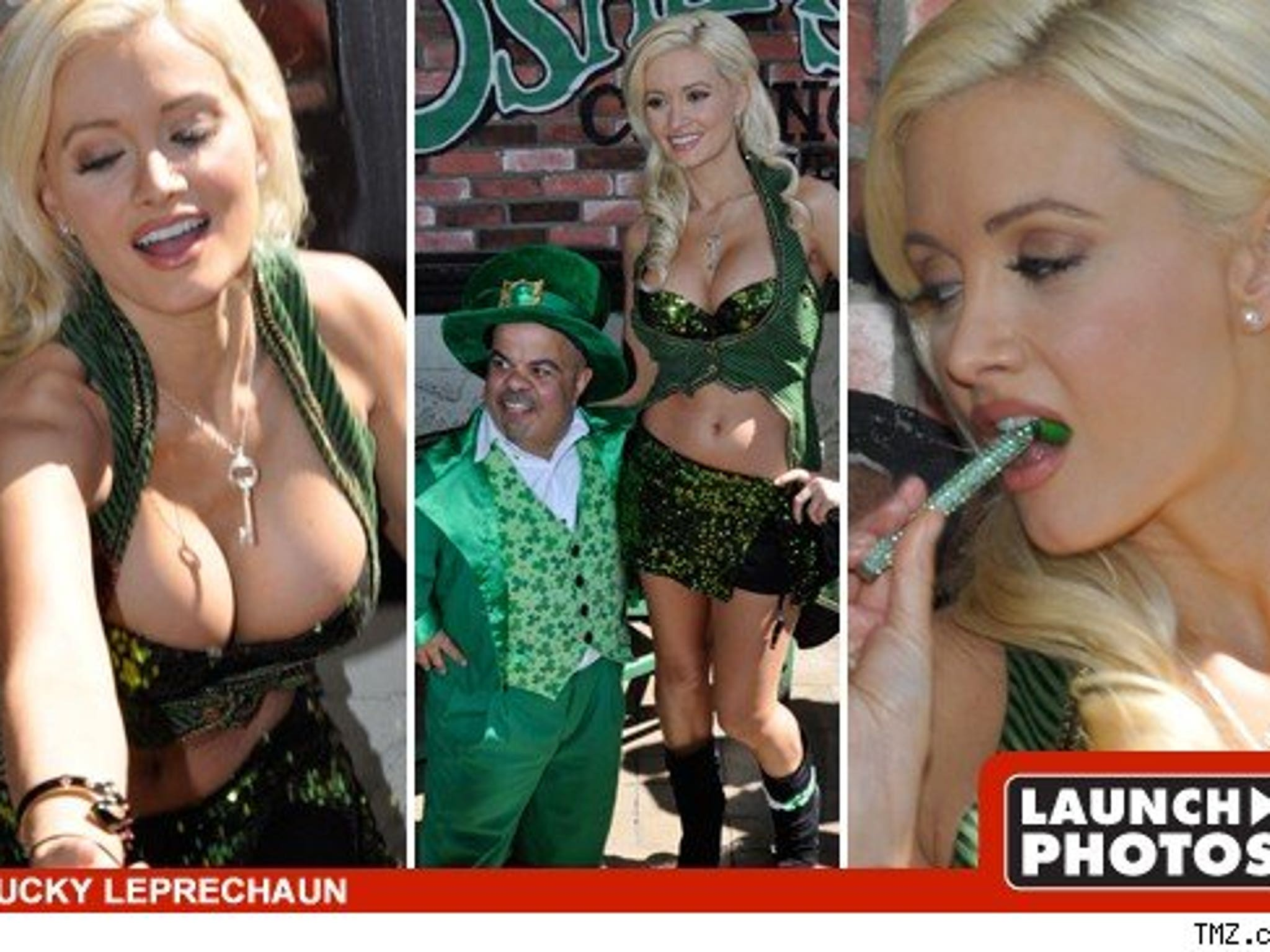 Holly Madison Better Than Green Beer