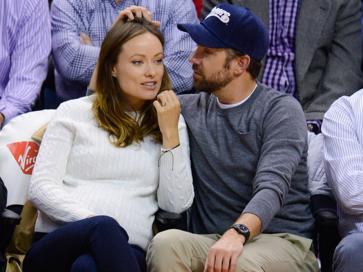 Olivia Wilde and Jason Sudeikis Happier Times
