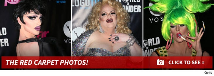 RuPaul's Drag Race -- The Red Carpet Photos!
