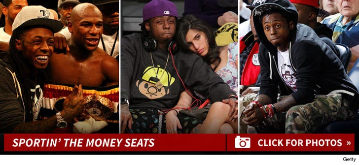 Lil Wayne -- Sportin' the Expensive Seats