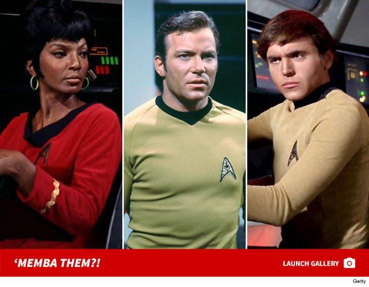 """Star Trek"" Cast: 'Memba Them?!"