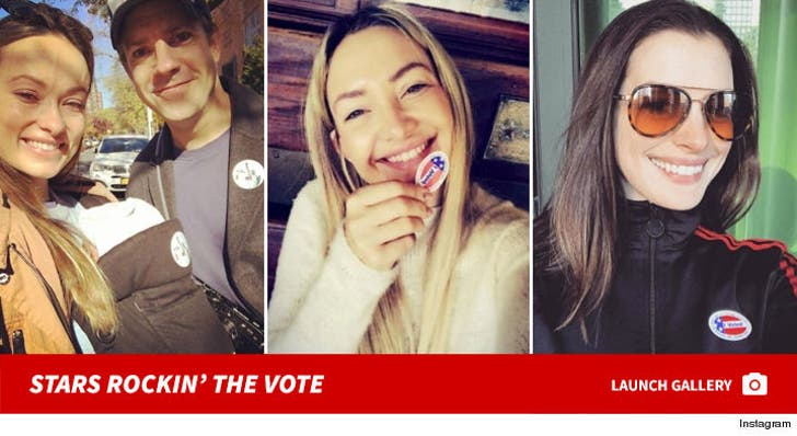 Stars Rockin' the Vote -- Election Day 2016