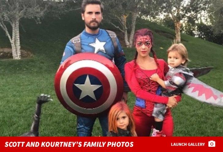 Scott Disick and Kourtney Kardashian's Family Photos