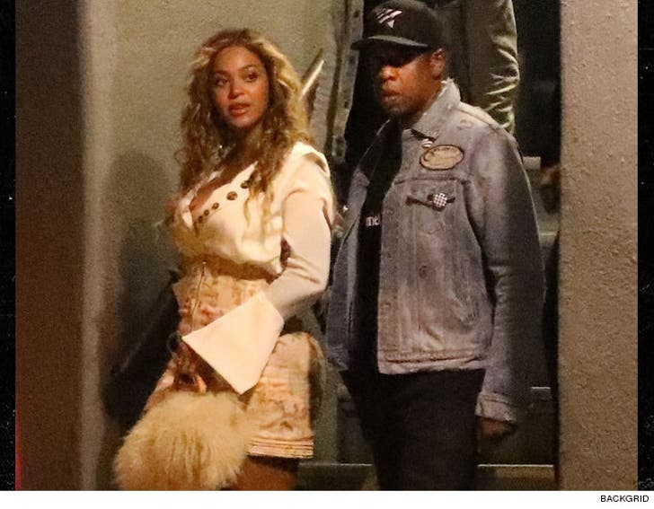 Beyonce Jay Z Leave Kids At Home Hit The Town
