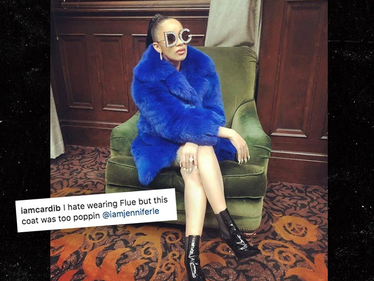 Cardi B Getting Gang Threats After IG Post Dissed Crips