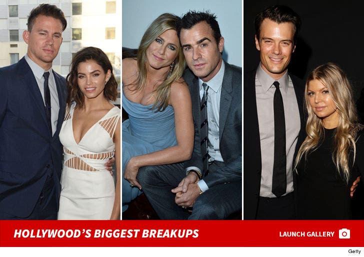 Hollywood's Biggest Breakups