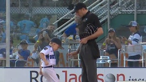6-Year-Old Baseball Coach Ejected, Throws Hilarious Tantrum!