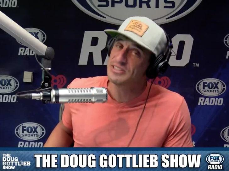 Doug Gottlieb Defends Andrew Luck Retirement Tweet, 'I'm a