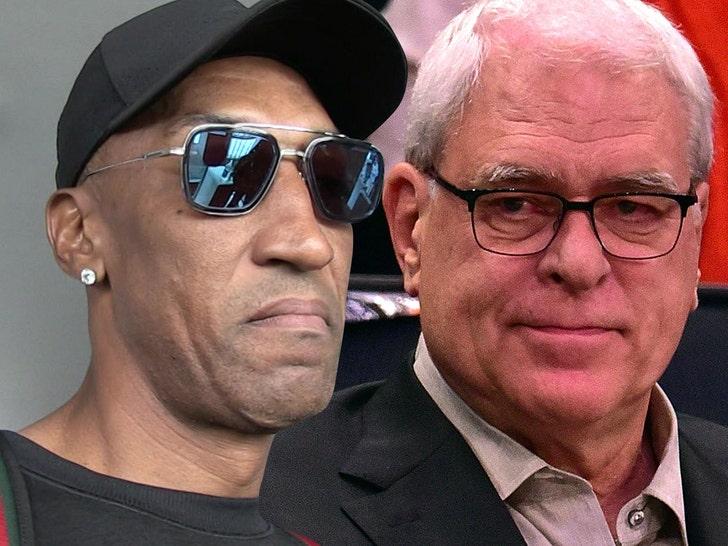 Scottie Pippen calling Phil Jackson racist