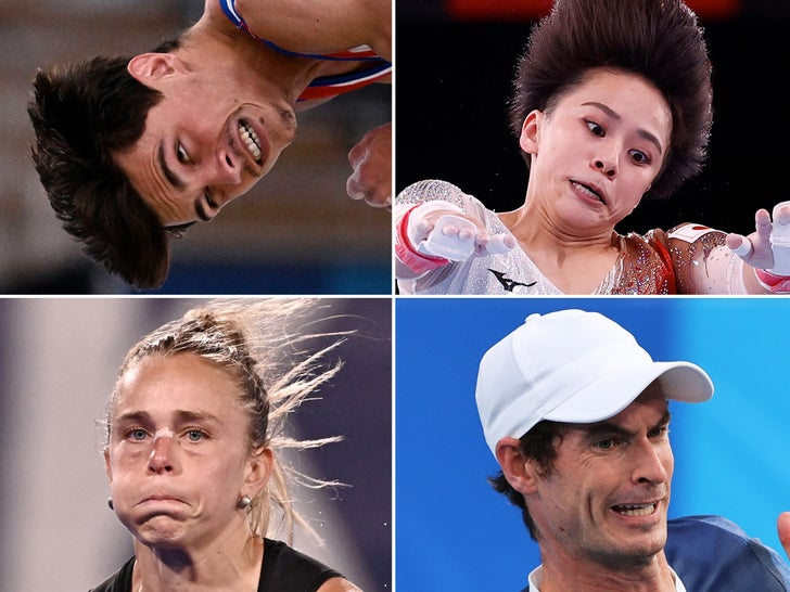 Olympic Game Faces of Tokyo