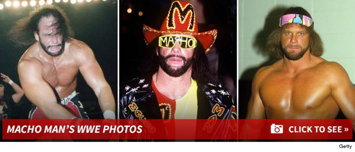 Macho Man's WWE Photos