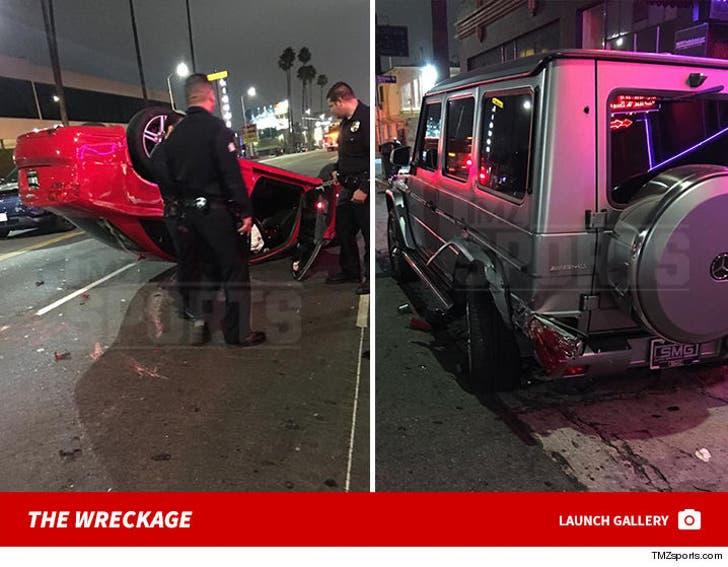 Johnny Manziel -- Third Wrecked Car This Year
