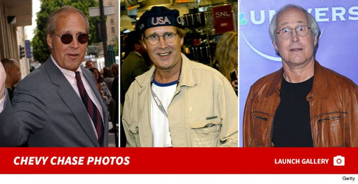 Chevy Chase Through the Years