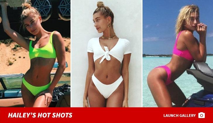 Hailey Baldwin's Hot Shots