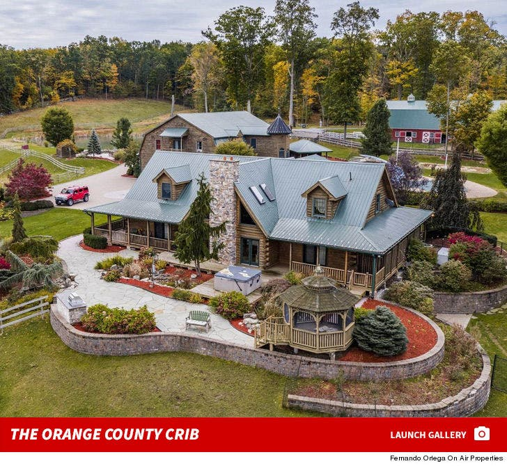 Paul Teutul Sr. -- Selling His Orange County Crib