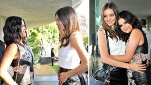 Selena Gomez & Miranda Kerr -- When (Alleged) Eskimo Sisters Meet ... (PHOTO)