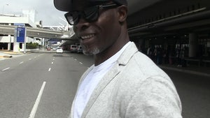 Djimon Hounsou Liked Working with David Beckham on 'King Arthur' but Won't Coach Him (VIDEO)