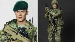 Tom Hardy Transforms into Royal Marine Action Figure for Charity
