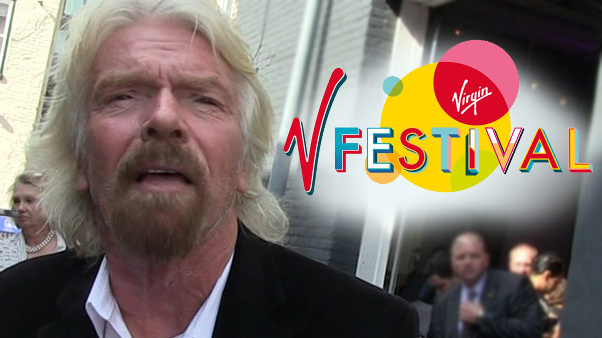 Richard Branson's Virgin Fest Co. Sued for Sucking Biz Partner Dry - TMZ