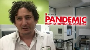 Netflix 'Pandemic' Doctor Says He Has Potential Coronavirus Cure
