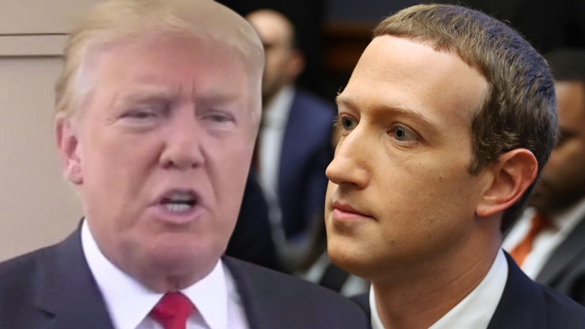 President Trump Blocked From Facebook, Instagram Indefinitely