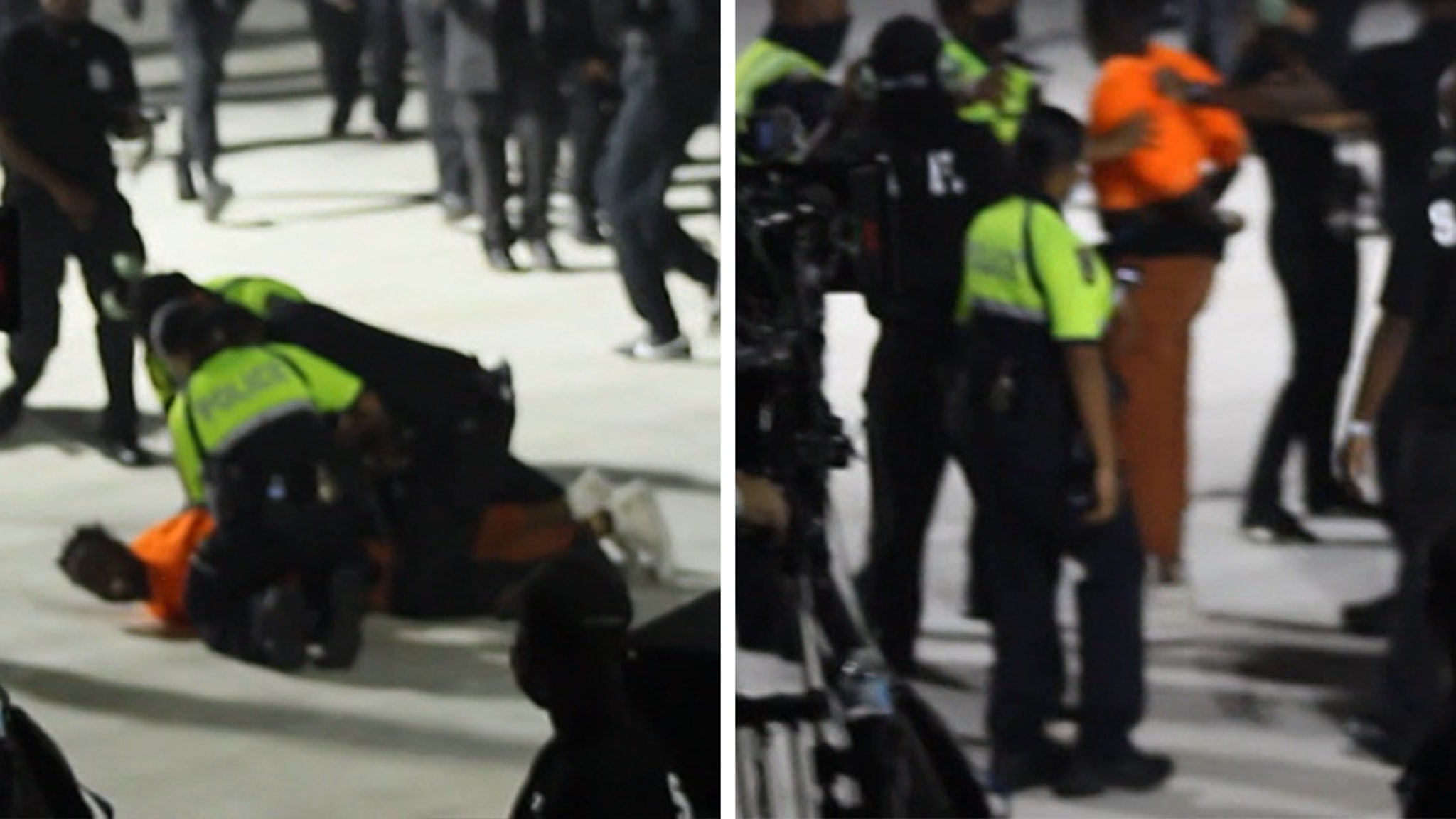 Kanye West Fan Tackled by Security at 'Donda' Event, Tried to Rush Stage thumbnail