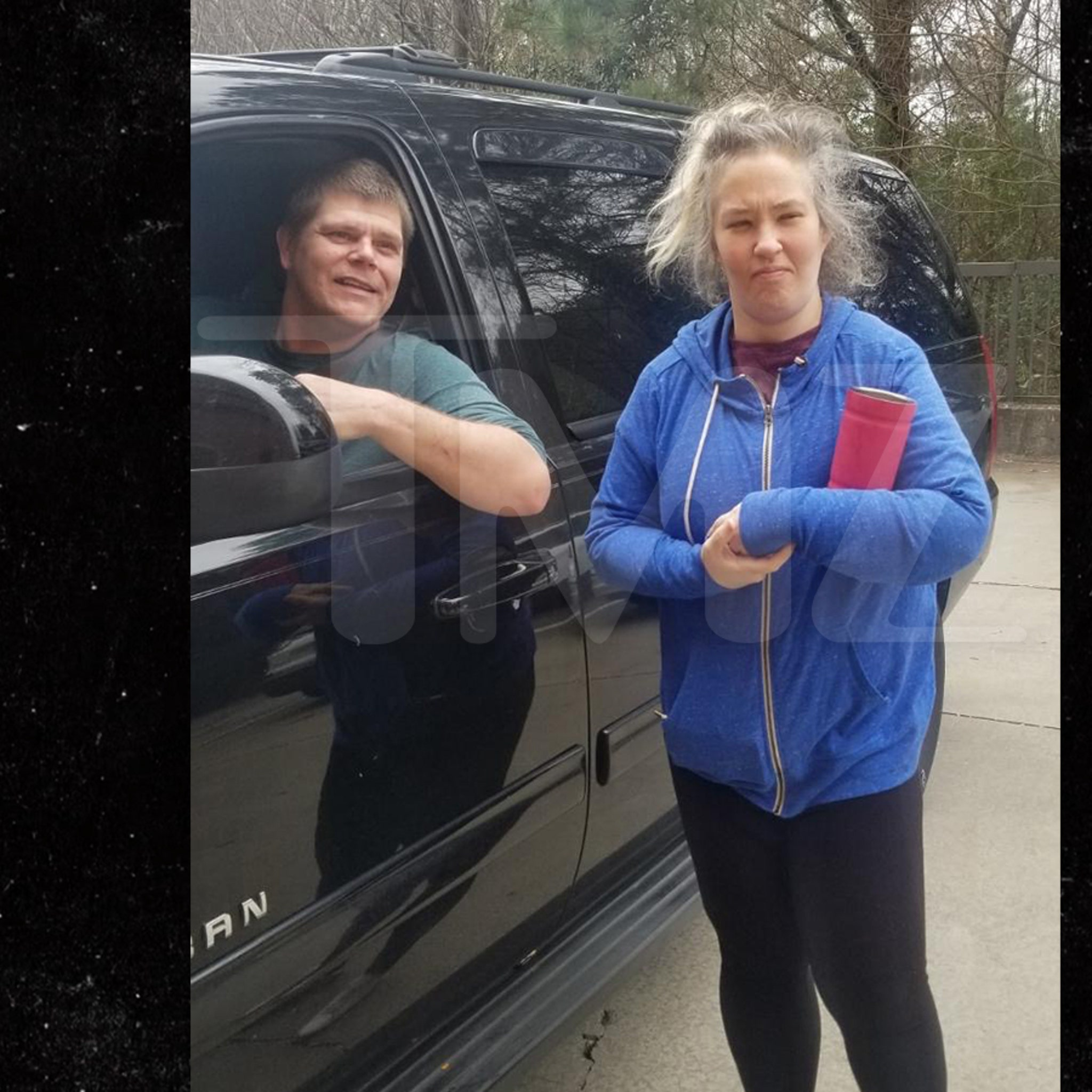 Mama June & Geno Pop Up Near Atlanta, Check Out of Hyatt Hotel