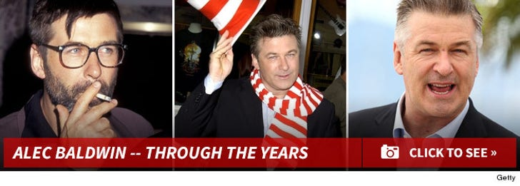 Alec Baldwin -- Through The Years