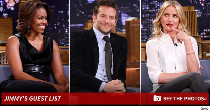 """Jimmy Fallon's """"Tonight Show"""" Guests"""