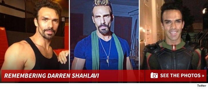 Remembering Darren Shahlavi