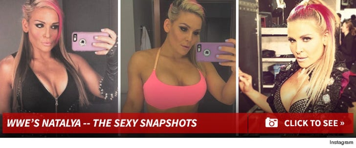 WWE's Natalya -- The Sexy Snapshots!