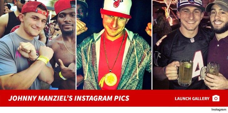Johnny Manziel's Instagram Pics