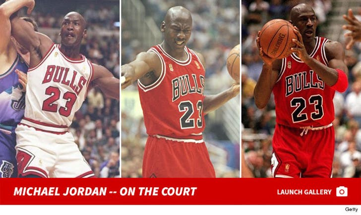 Michael Jordan -- On the Court