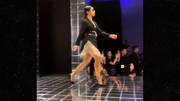 Cardi B's Sister Wets Her Feet In First Major Fashion Show
