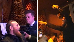 Conor McGregor Parties Vegas-Style After Winning UFC Match Against Cowboy Cerrone