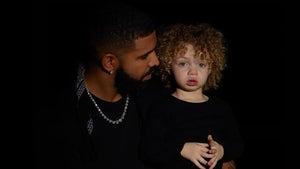 Drake Shares First Photos of Son Adonis, Blue Eyes & Blonde Afro