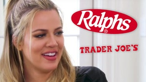 Khloe K Pays Elderly's, Employees' Groceries at Trader Joe's, Ralphs