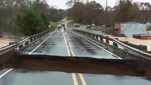 North Carolina Bridge Collapses Live on Air, News Crew Barely Escapes