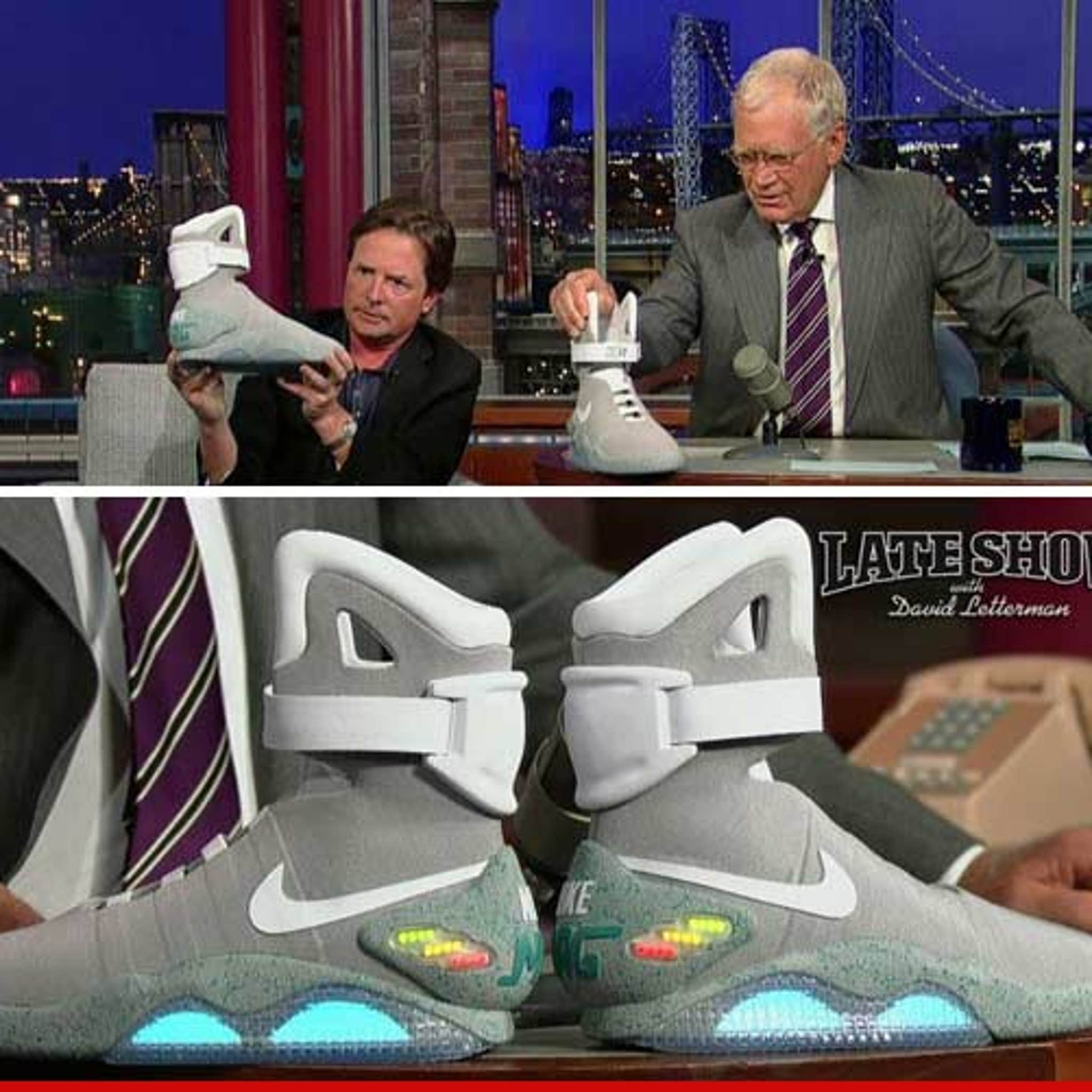 re Selling Marty McFly's FUTURE SHOES