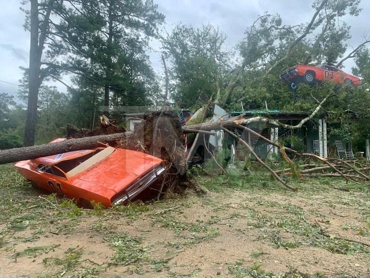 John Schneider Studios Damaged During Hurricane Ida