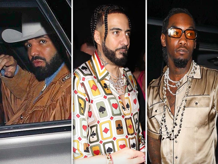 Drake's 35th Birthday Party at Goya Studios